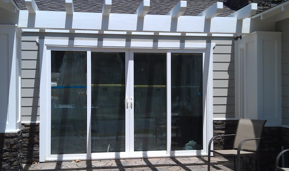 We 4 Panel Door With SunCoatMAX ...