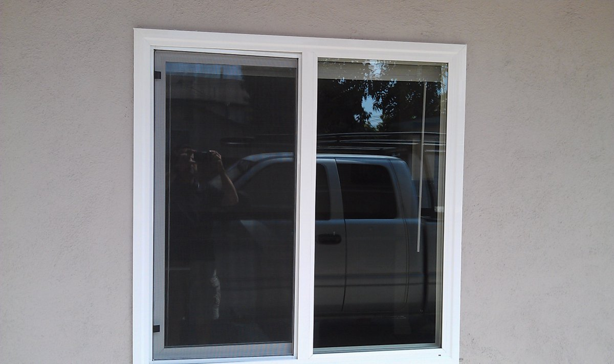 Vista ca united states 16 ft milgard 4 panel sliding glass for Milgard windows
