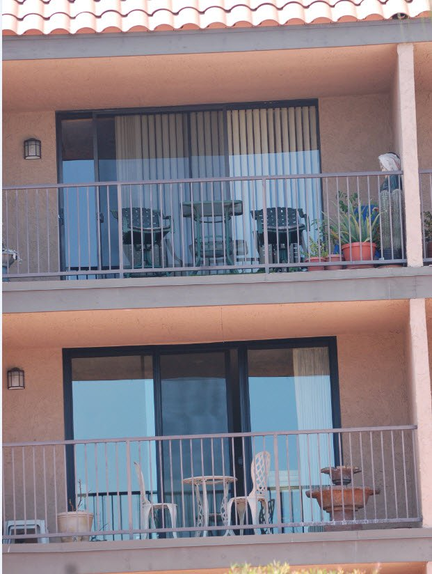Glass Is SunCoatMax Before And After Picture Of A Milgard Aluminum Retrofit  Door. Color Is Bronzed Aluminum And ...