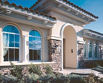 Milgard Styleline Radius Windows