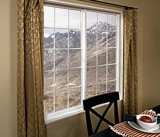 Milgard Tuscany Vinyl Horizontal Sliding Windows