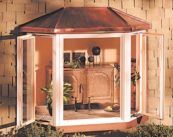 Milgard Ultra Bay Window